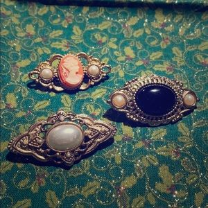 Set of Three 1928 pins